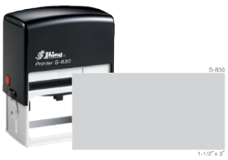 S-830 - S-830 CustomSelf-Inking Stamp
