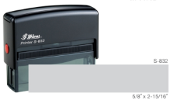 S-832-3 - S-832 Custom Self-Inking Stamp
