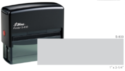 S-833-4 - S-833 Custom Self-Inking Stamp